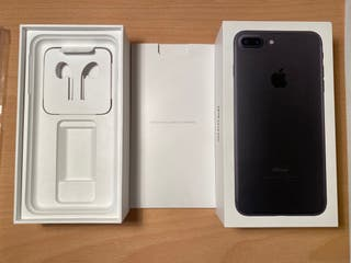 Caja iPhone 7 Plus negro
