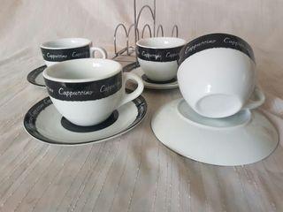 Juego café 4 tazas