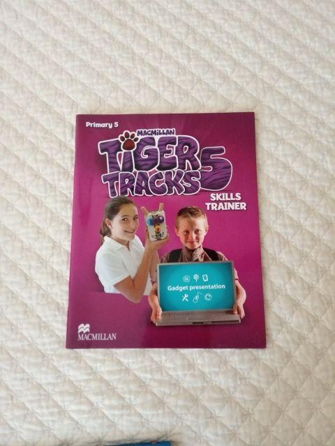 Libro de inglés: Tiger Tracks 5