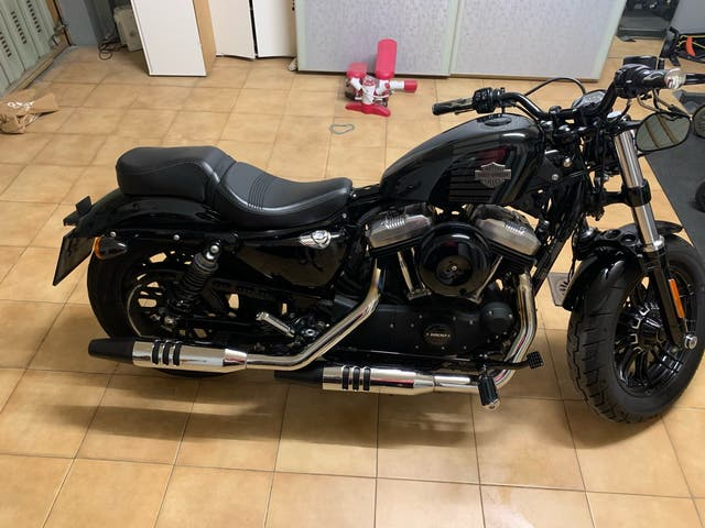 Moto Harley Davidson Forty-Eight
