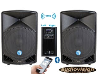 PACK ALTAVOCES BT STEREO 3000W AUDIOVISION-BDN
