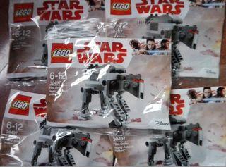 10 bolsas Lego Start Wars First Order SIN ABRIR