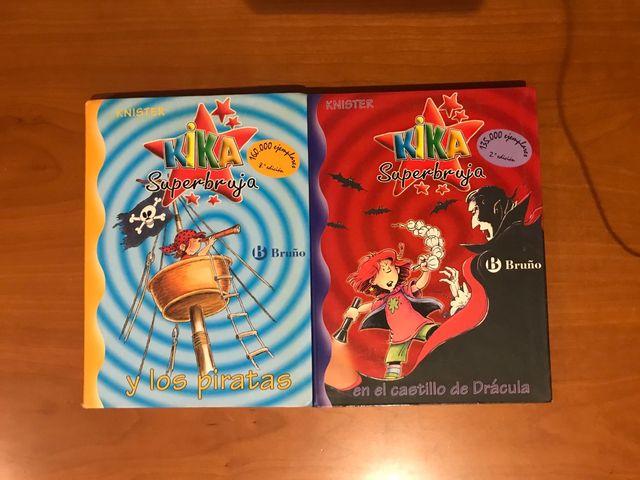 Libros Kika Superbruja