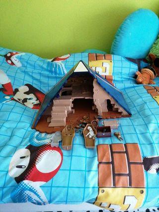 Playmobil pirámide faraón