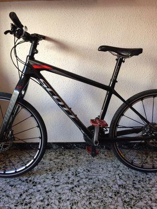 Bicicleta carretera carbono Scott610.