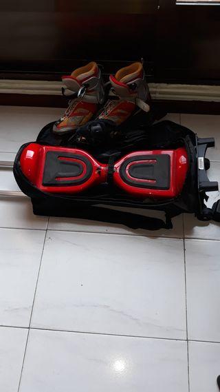 Hoverboard/patinete eléctrico (regalo patines)
