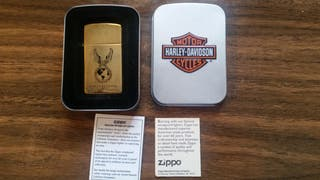 Mechero Zippo Harley Davidson. Original. Nuevo