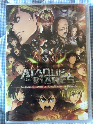 PELICULA DVD: Ataque a los titanes PARTE 2