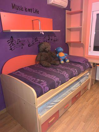 muebles habitación infantil-juvenil