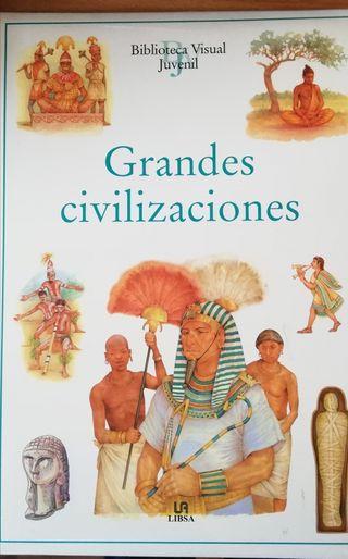 Mitología, religión, civilizaciones (3 libros)