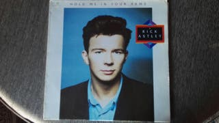 vinilo rick astley hold me in your arms