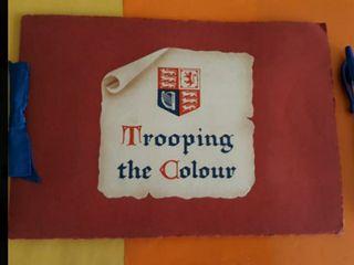 Trooping the Colour. Postales de Londres antiguas