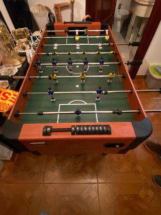 4 en 1 Futbolin billar air hockey y ping pong