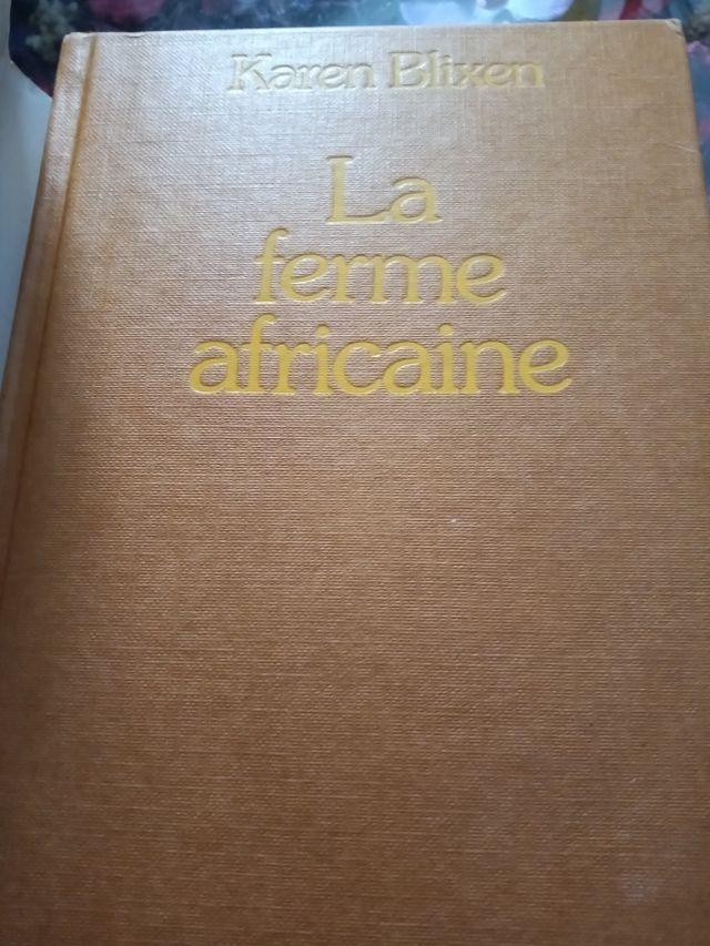 libro La Ferme Africaine