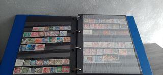 Antiguo Album sellos Paises del Mundo
