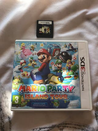 Mario Party Island Tour 3DS + Spyro The Eternal
