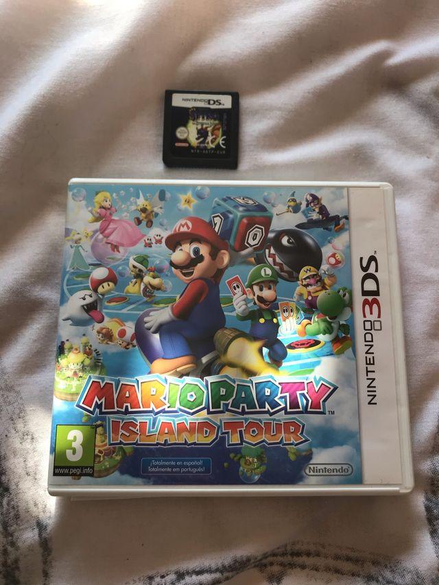 Mario Party Island Tour 3DS + Spyro The Eternal