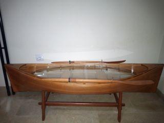 Mesa auxiliar barca
