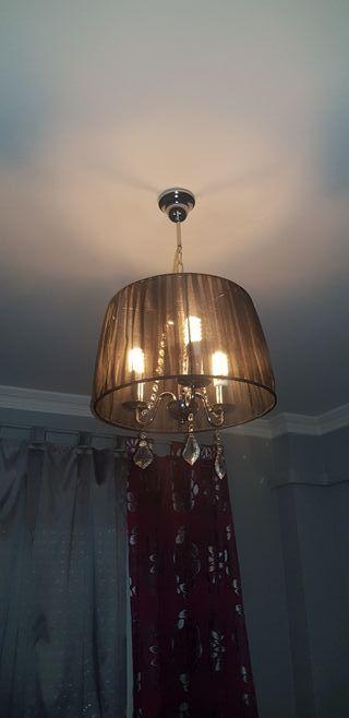 juego lamparas dormitorio