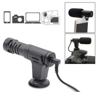 micrófono Mini portátil 3,5mm condensador