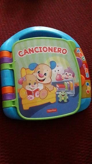 Libro Cancionero Infantil