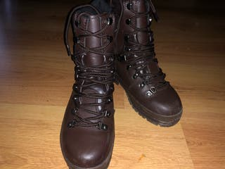 Army style boots