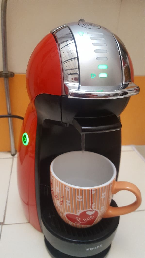 cafetera dolce gusto..automatica