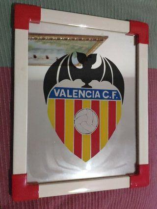 Cuadro espejo Valencia CF