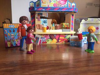 Playmobil Puesto de Chuches Parque Atracciones