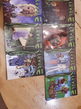 colección completa levelE biblioteca Manga