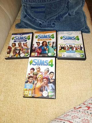 juegos de los sims 4