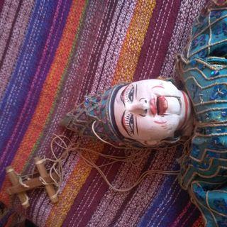 marioneta madera thailandia