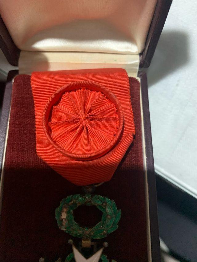 Medalla Francesa Legión de Honor Officier
