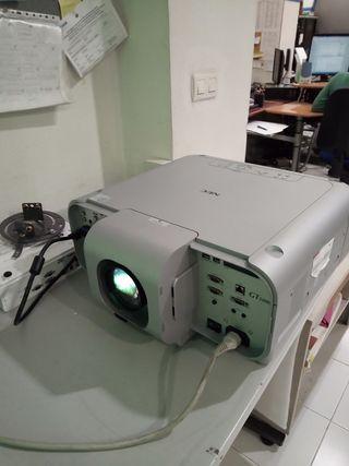 Video proyector NEC de alto brillo