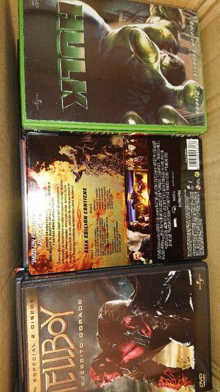 Colección DVDs Marvel y más (más de 30)