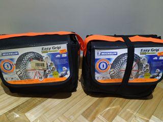 Cadenas Michelin Easy Grip 4x4 y autocaravana X12