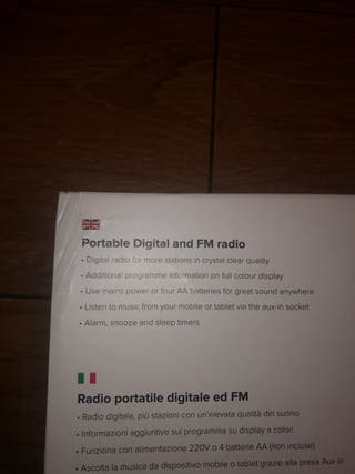 Pure Elan E3- Portable Digital and FM radio