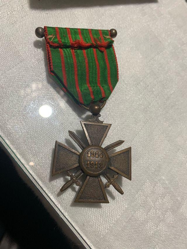 Medalla Francesa Cruz de hierro 1914-1918