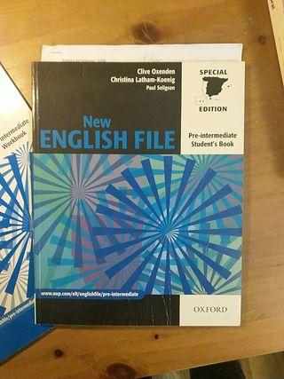Libros inglés pre intermediate Oxford(New English)