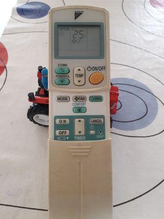 mando de aire acondicionado daikin