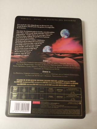 DVD metálico de Coleccionista
