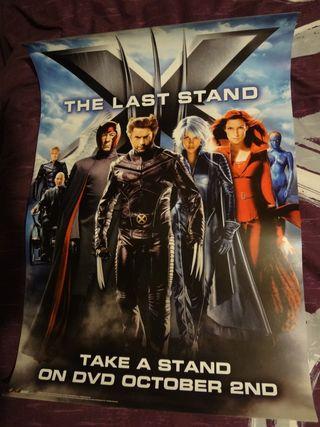 Póster película X-MEN 3 III Marvel Comics