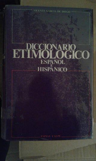 Diccionario etimológico español e hispánico
