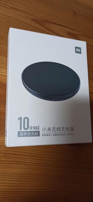 a estrenar Xiaomi Qi cargador inalámbrico 10W max