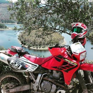 Moto Honda XR650R