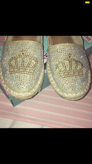 Zapatillas brillo