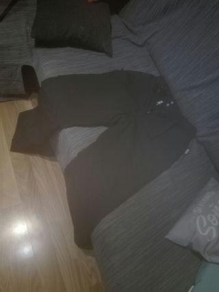 pantalon negro esquiar mujer talla 40