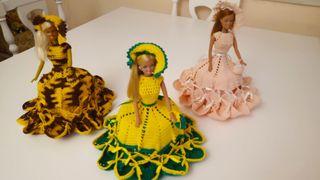 Bonecas / Muñecas de ganchillo