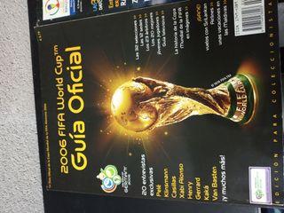 Guías completas de mundiales de futbol 2002 y 2006