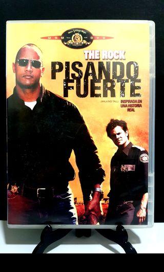 PISANDO FUERTE THE ROCK DVD